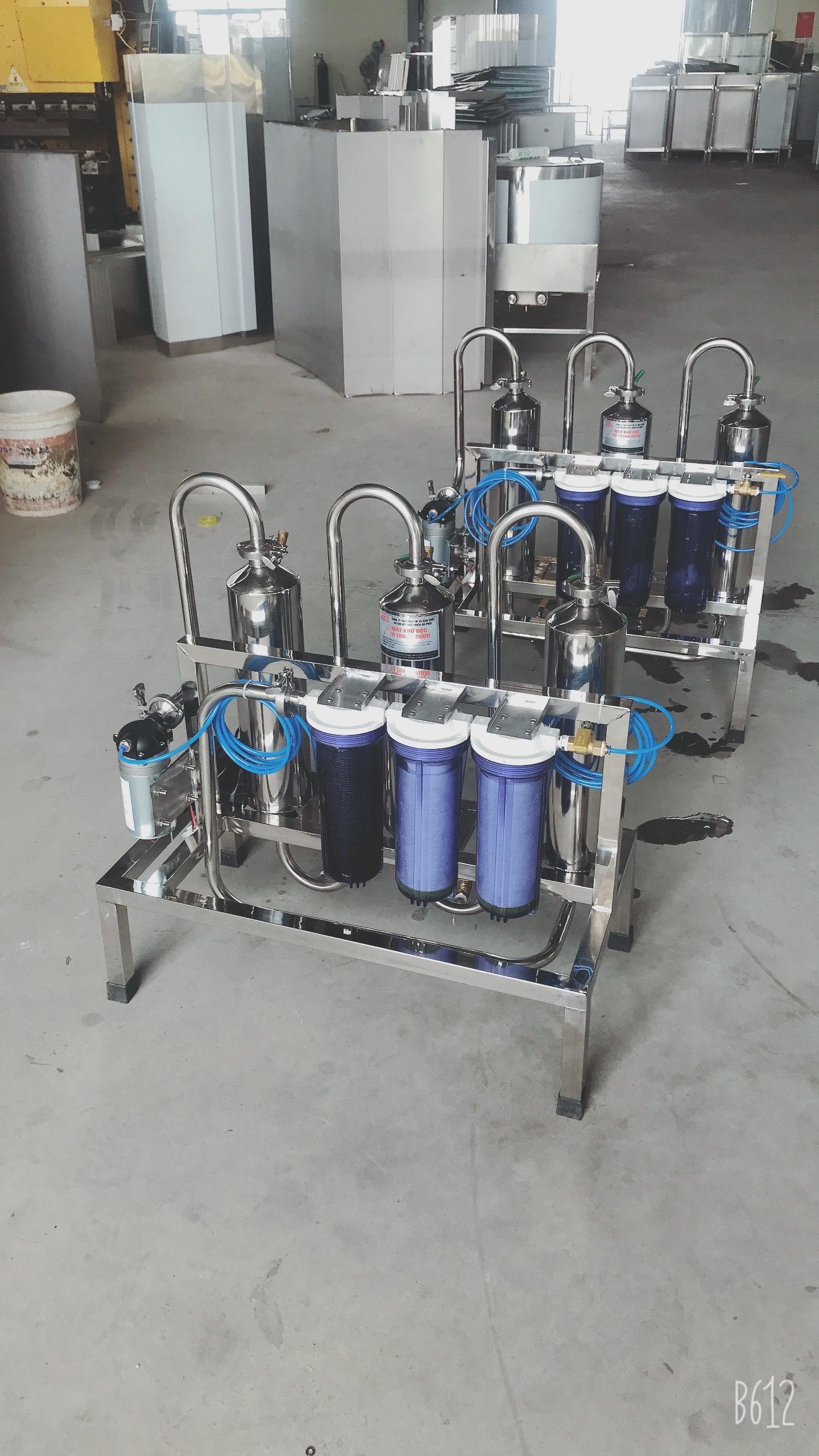Máy lọc khử độc tố rượu 60Lit/H
