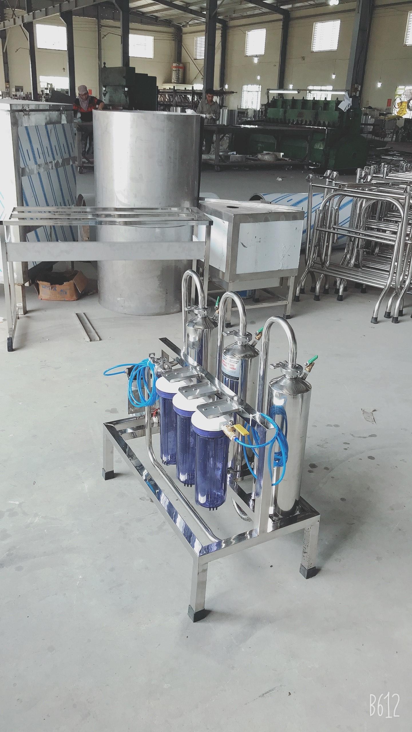 Máy lọc khử độc tố rượu 50Lit/H