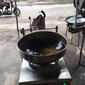 máy rang cơm tự động