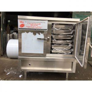 Tủ nấu cơm 60kg bằng điện loại 2 cánh