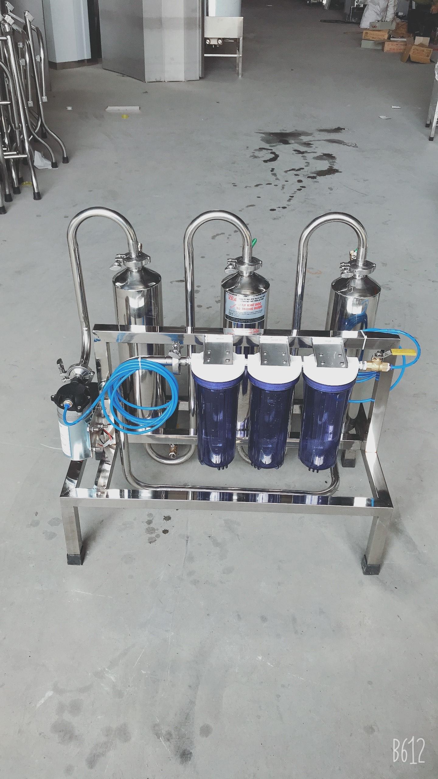 Máy Lọc Rượu khử Độc Tố Andelhit 100Lít/h